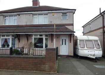 Thumbnail 3 bedroom semi-detached house to rent in Cotton Grove, Hednesford, Cannock