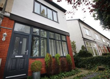 Thumbnail 3 bed terraced house to rent in Nevile Road, Salford