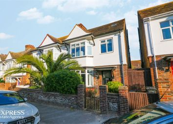 Thumbnail 4 bed semi-detached house for sale in Upper Approach Road, Broadstairs, Kent