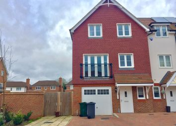 Thumbnail 4 bed town house to rent in Culverhouse Way, Chesham