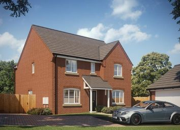 Thumbnail 4 bed detached house for sale in Synehurst Avenue, Evesham, Worcestershire