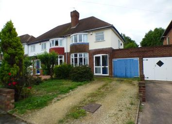 Thumbnail 3 bed semi-detached house for sale in Delves Crescent, Walsall, West Midlands