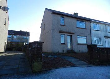 Thumbnail 2 bed end terrace house for sale in Ballochmyle Quadrant, Catrine, Mauchline