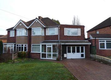 Thumbnail 3 bed semi-detached house for sale in Harcourt Drive, Sutton Coldfield