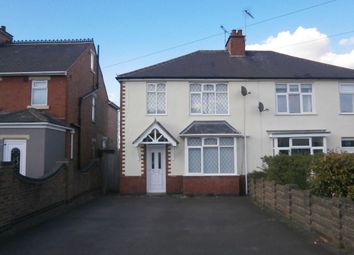 Thumbnail 3 bed semi-detached house to rent in Sapcote Road, Burbage, Hinckley