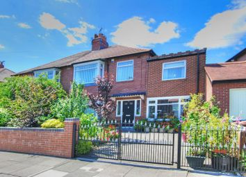 Thumbnail 5 bed semi-detached house for sale in Dene View, Gosforth, Newcastle Upon Tyne