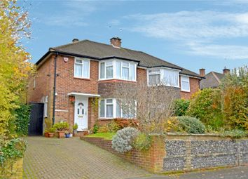 Thumbnail 3 bed semi-detached house for sale in Dale Road, Purley, Surrey