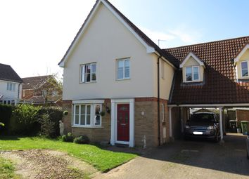 Thumbnail 4 bed link-detached house for sale in Holkham Close, Downham Market