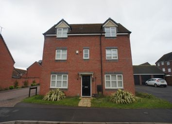 Thumbnail 4 bed detached house to rent in Girton Way, Mickleover, Derby