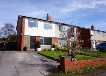 Thumbnail 3 bed semi-detached house for sale in Duxbury Avenue, Harwood, Bolton