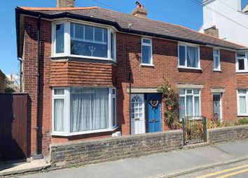 Thumbnail 3 bed flat for sale in 12 Gladstone Road, Walmer, Deal, Kent