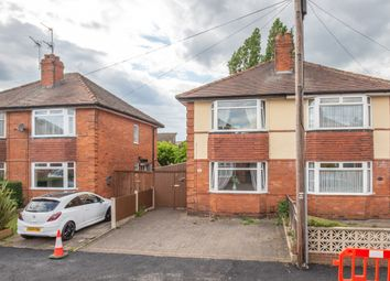 Thumbnail 2 bed semi-detached house for sale in Lincoln Avenue, Alvaston, Derby