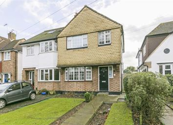Thumbnail 3 bed end terrace house for sale in Worcester Park Road, Worcester Park, Surrey
