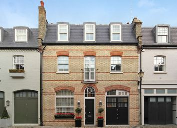 Thumbnail 5 bedroom town house to rent in Clabon Mews, Knightsbridge, London