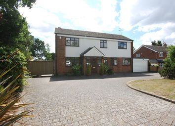 Thumbnail Detached house for sale in The Greenway, Runwell, Essex