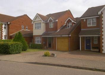 Thumbnail 4 bed detached house to rent in Hartland Avenue, Tattenhoe, Milton Keynes