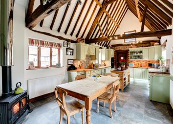 Thumbnail 4 bed barn conversion for sale in Tharston, Norwich