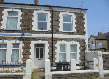 Thumbnail 2 bedroom flat to rent in Marion Street, Splott