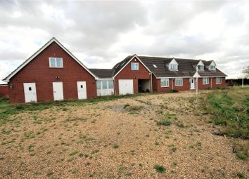 Thumbnail 9 bed detached bungalow for sale in Luttongate, Sutton St. Edmund, Spalding