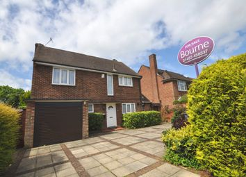 Thumbnail 4 bed detached house for sale in Woodruff Avenue, Burpham, Guildford
