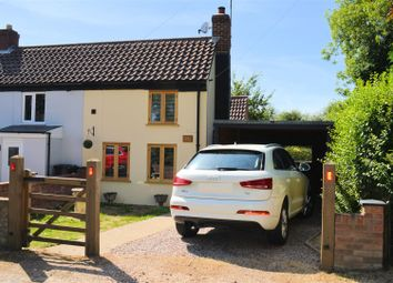 Thumbnail 1 bed cottage for sale in Church Road, Tilney St. Lawrence, King's Lynn