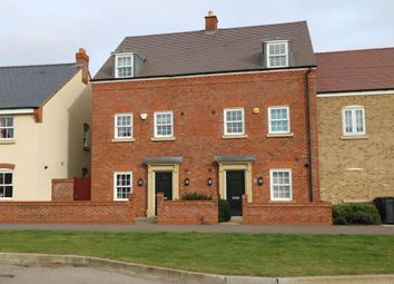 Thumbnail 4 bed terraced house for sale in Wilkinson Road, Kempston, Bedford