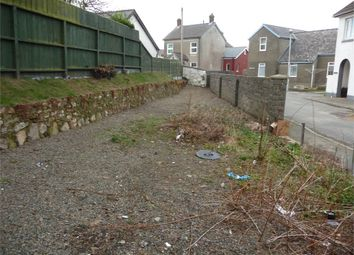 Thumbnail Land for sale in Plot Adj To Ashgrove, Smyth Street, Fishguard, Pembrokeshire