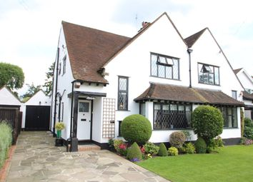 Thumbnail 3 bed semi-detached house for sale in St Georges Road, Petts Wood, Orpington