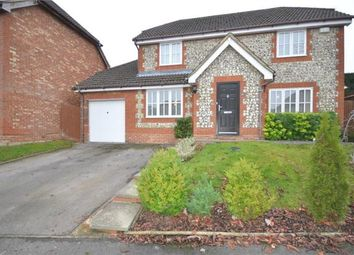 Thumbnail 4 bed detached house for sale in Marbull Way, Warfield, Bracknell