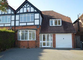 Thumbnail 4 bedroom semi-detached house to rent in Brandwood Road, Kings Heath, Birmingham