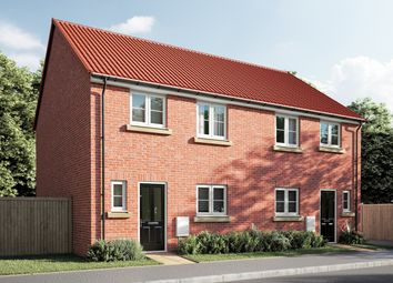 "Thumbnail 3 bed semi-detached house for sale in ""The Eveleigh"" at Carlisle Way, Bracebridge Heath, Lincoln"