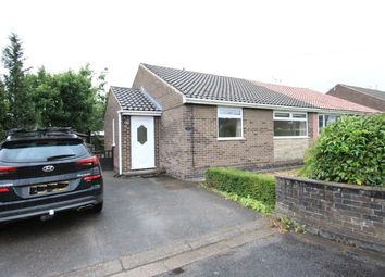 Thumbnail 2 bed semi-detached bungalow to rent in Heathfield, Matlock, Derbyshire