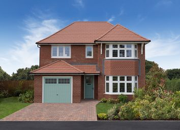"Thumbnail 4 bed detached house for sale in ""Oxford"" at Ledsham Road, Little Sutton, Ellesmere Port"