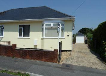 Thumbnail 2 bed semi-detached bungalow for sale in Acton Road, Wallisdown, Bournemouth