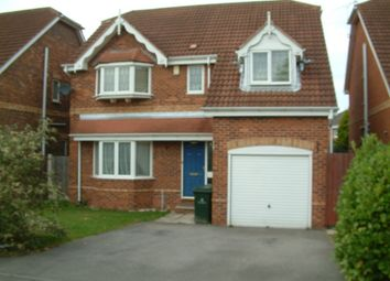 Thumbnail 4 bed detached house to rent in Brodsworth Way, Rossington, Doncaster