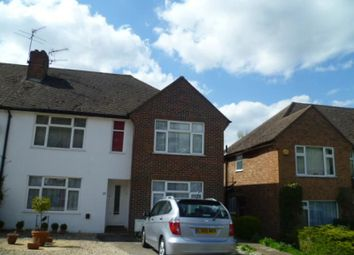 Thumbnail 2 bed flat to rent in Effingham Close, Sutton
