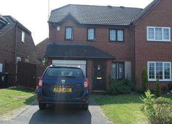 Thumbnail 3 bed semi-detached house for sale in Cloverdale Road, Leicester