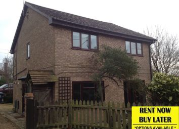 Thumbnail 4 bed detached house to rent in Herne Road, Ramsey St Mary's, Huntingdon