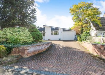 Thumbnail 3 bed detached bungalow for sale in Honey Hill, Fenstanton, Huntingdon