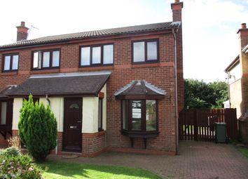 Thumbnail 3 bed semi-detached house to rent in Sorrel Close, Ashington