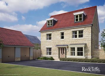 Thumbnail 5 bed detached house for sale in Pickwick Park, Park Lane, Corsham