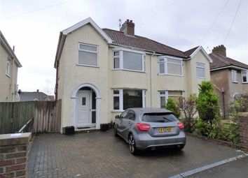 Thumbnail 3 bed semi-detached house for sale in Mansfield Avenue, Weston-Super-Mare