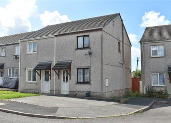 Thumbnail 2 bed semi-detached house for sale in Howells Close, Monkton, Pembroke