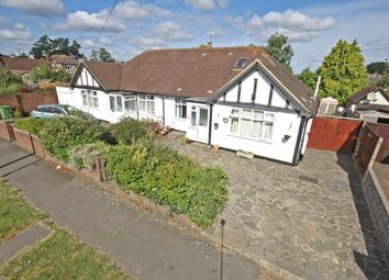 Thumbnail 3 bedroom semi-detached bungalow to rent in Danetree Road, Ewell, Epsom