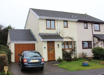 Thumbnail 2 bed semi-detached house for sale in Hermitage Road, Roche, St. Austell