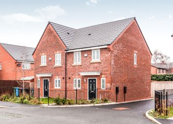 Thumbnail 3 bed semi-detached house to rent in Byron Terrace, Partington Street, Failsworth