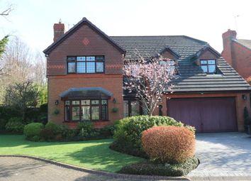 Thumbnail 4 bed detached house for sale in Manor Park Drive, Great Sutton, Ellesmere Port