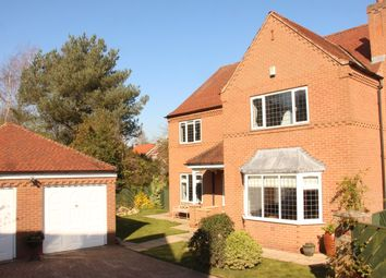 Thumbnail 5 bed detached house for sale in The Gowans, Sutton-On-The-Forest, York