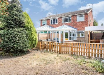 Thumbnail 3 bed semi-detached house for sale in Claybrook Avenue, Leicester