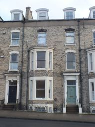 Thumbnail 1 bed flat to rent in Flat 3, 12 Valley Bridge Parade, Scarborough